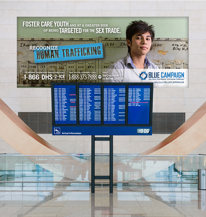 DHS Airport Billboard