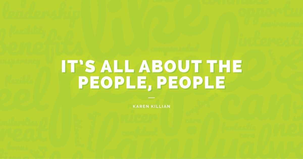 It's All About the People, People by Karen Killian