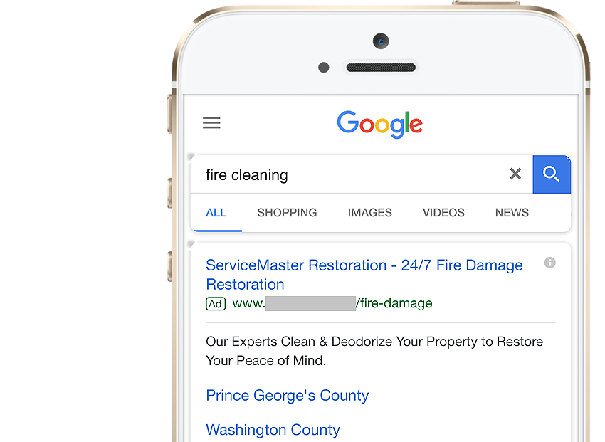 ServiceMaster Restoration on Google
